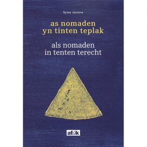 Boek Cover As nomaden yn tinten teplak