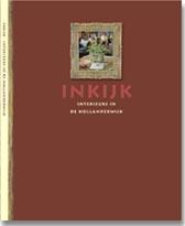 Boek Cover Inkijk, interieurs in de Hollanderwijk